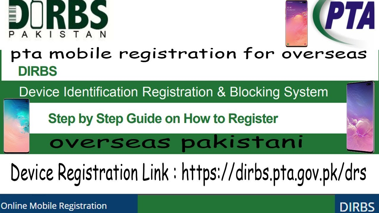 Pta Online Registration | How To Register Phone From PTA