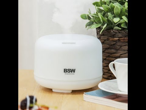 [BSW] 무드등 디퓨저 가습기 BS-1812-HM