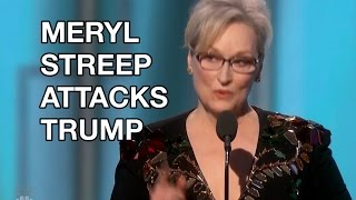 Meryl Streep's Golden Globes 2017 Speech Attack Donald Trump: President-Elect Calls Her 'Overrated'