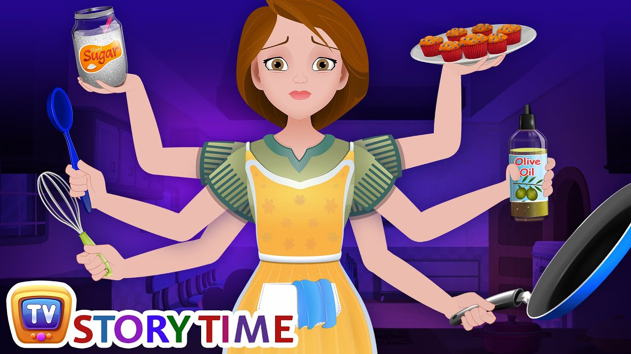 The Hardworking Mother | Good Habits Bedtime Stories & Moral Stories for Kids | ChuChu TV