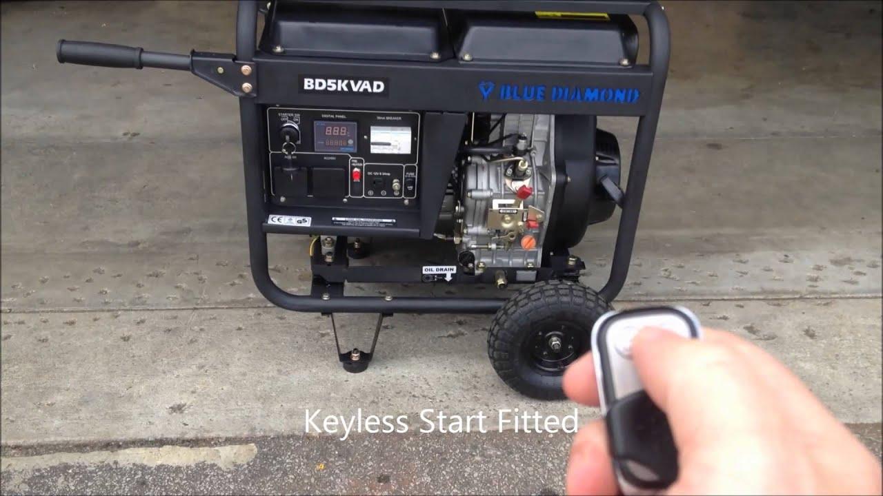 Portable Generator 5Kva Home or Trade