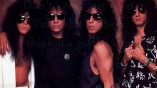 Kiss - Somewhere Between Heaven & Hell - With Lyrics