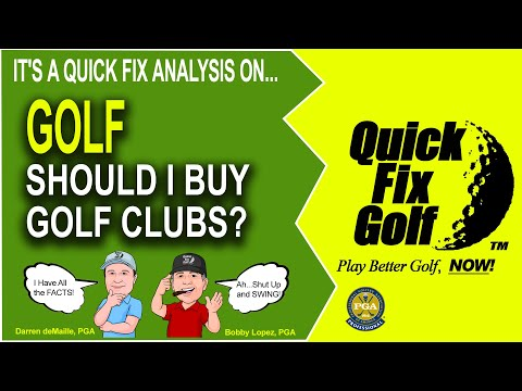 Golf Webinar - Should I Buy Golf Clubs