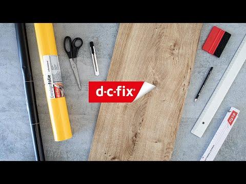 d-c-fix® Giraffe growth chart for kids | DIY craft video
