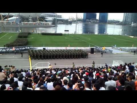 BMT Graduation The Float Parade @ Marina Bay (8th Jan 2011)