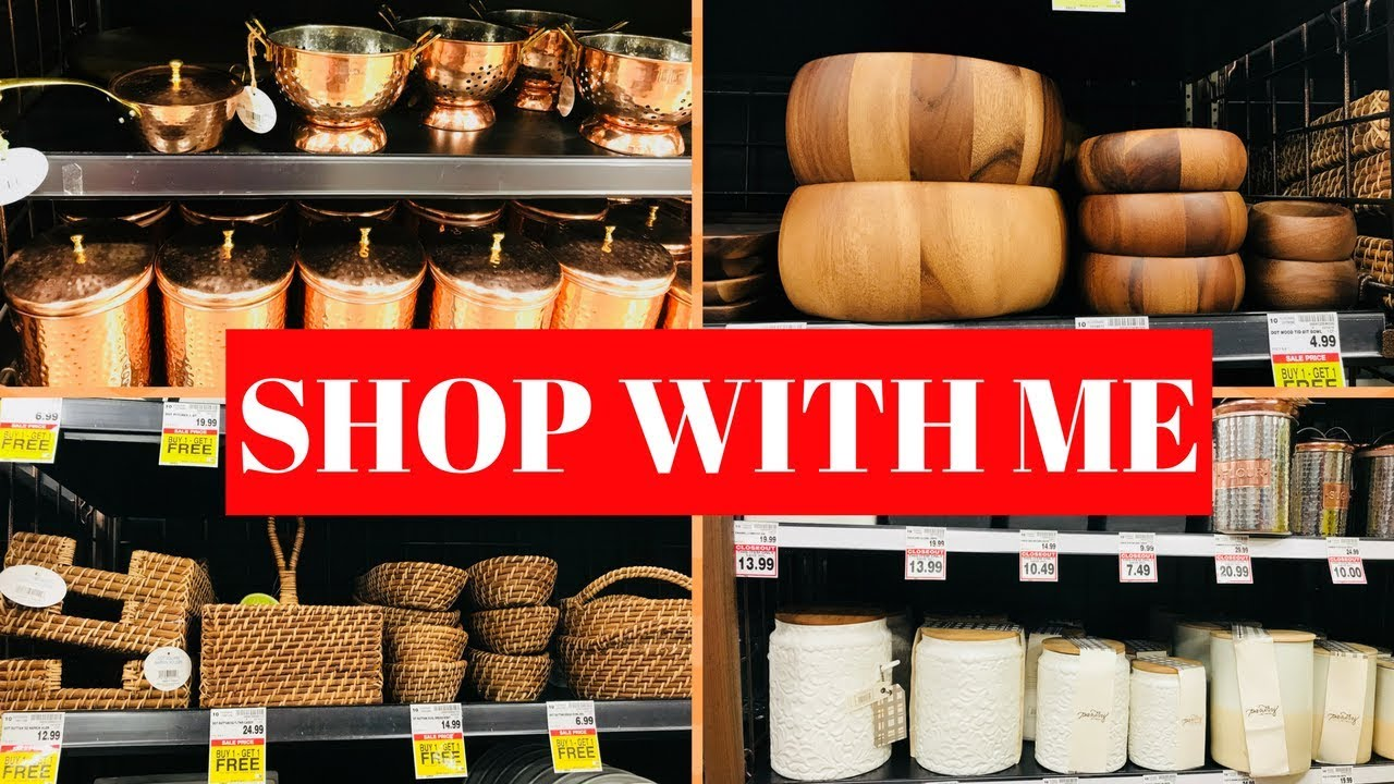 shop with me for kitchenware   kitchen items sale