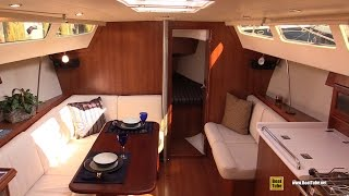 2015 Hunter Marlow 31 Sailing Yacht - Deck and Interior Walkaround - 2015 Annapolis Sail Boat Show