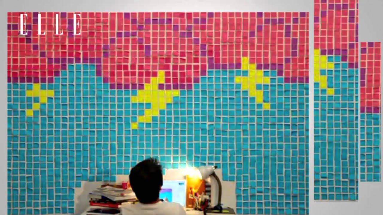 青年創意家 - 便利貼藝術家 劉邦耀 - YouTube