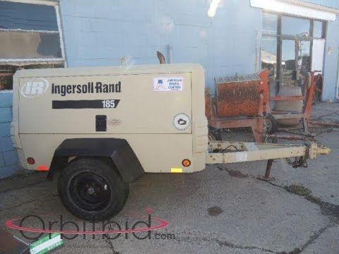 ingersoll-rand-towable-air-compressor