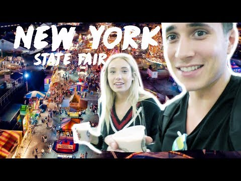 GREAT NEW YORK STATE FAIR 2017 || Zak Longo