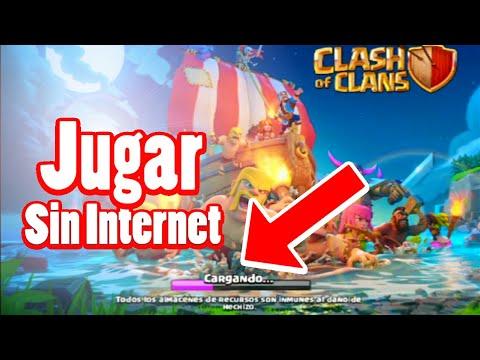 Jugar Clash Of Clan Sin Tener Internet Nuevo Bug