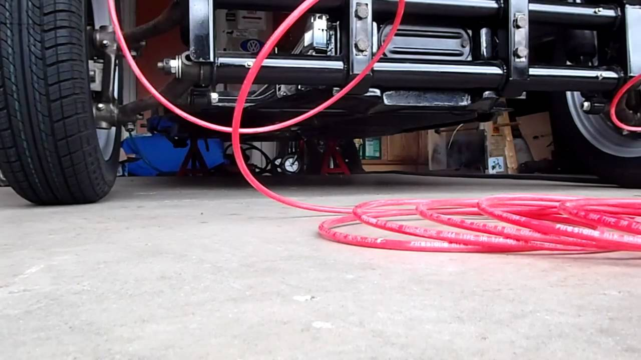 Airkewld front air suspension-First Test