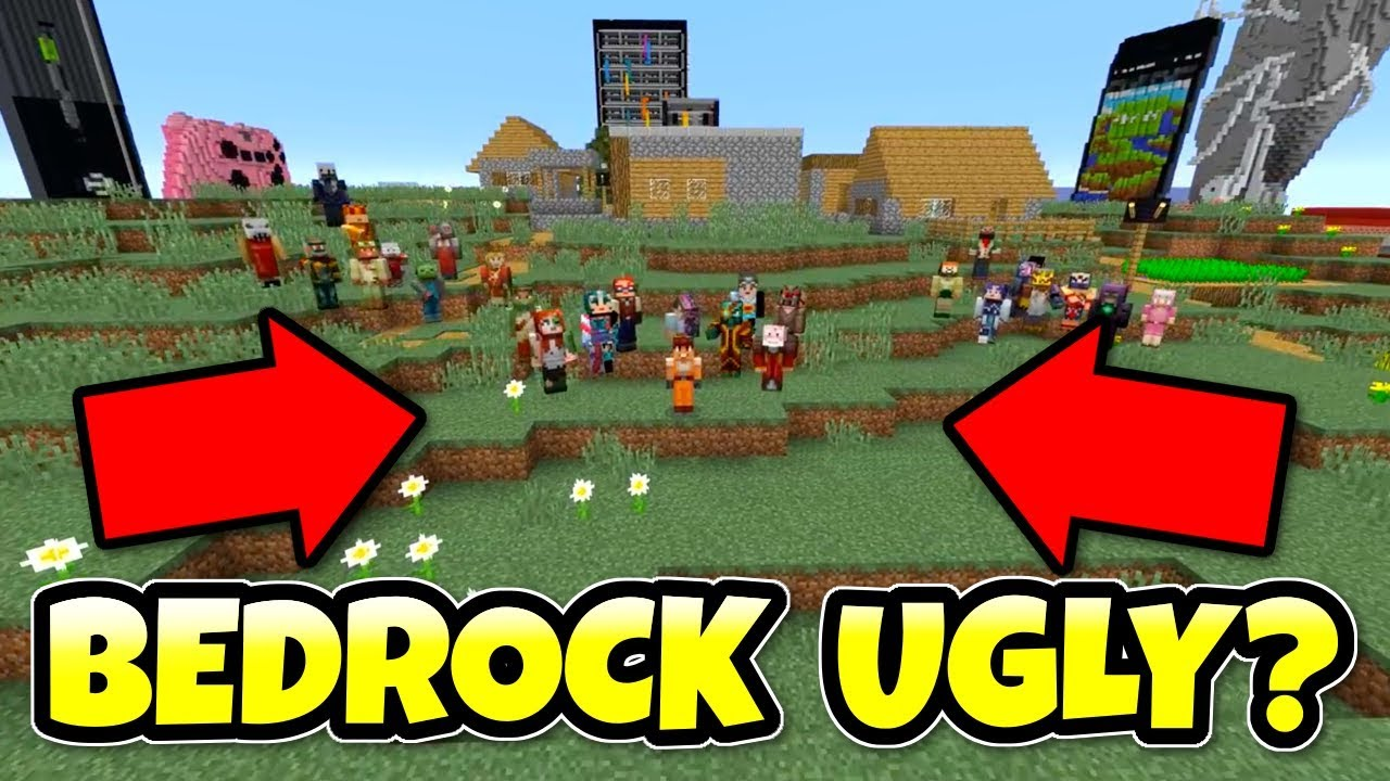 Minecraft Better Together Ugly Bedrock Feedback Xbox Switch Pe