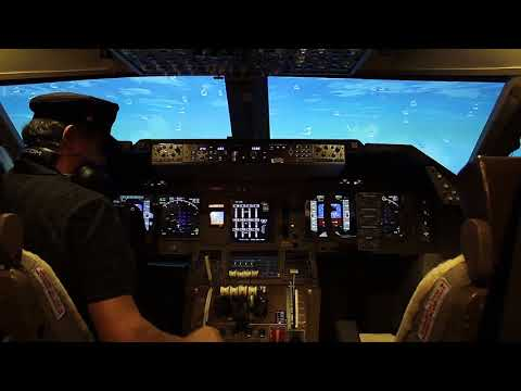 "747 Cockpit. EDDF-KAI-TAK Flight requested by Member ""Jesper""."