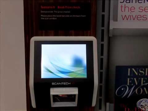 Scan Kiosks Sk 50 Application Price Checker Youtube
