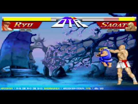 Street Fighter Ryu Vs Sagat Flash Version