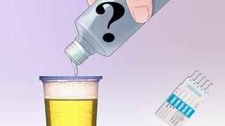 Бытовая химия и тесты на наркотики