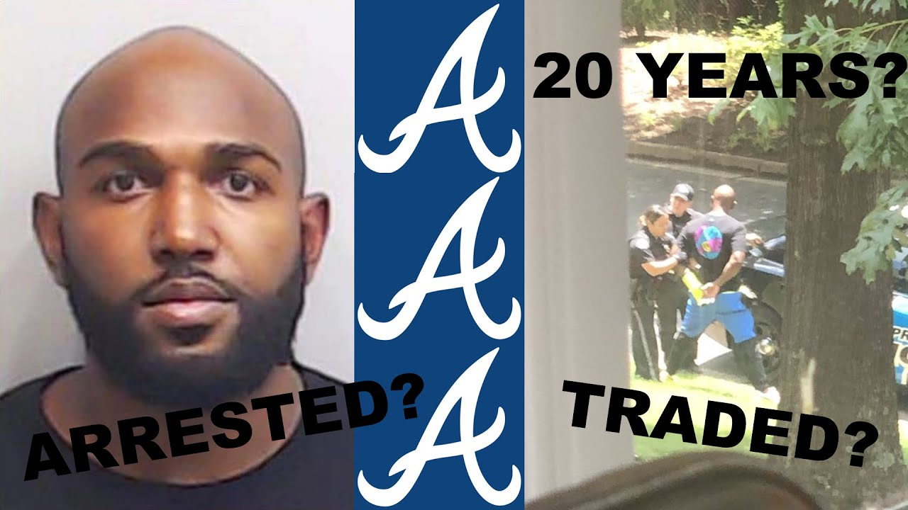 Marcell Ozuna arrested and charged with battery-family violence ...
