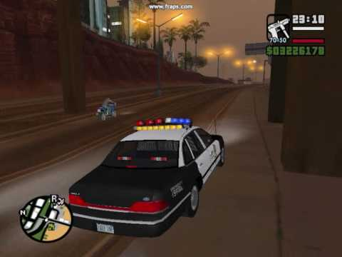 GTA San Andreas: Ford Crown Victoria Police Car LAPD