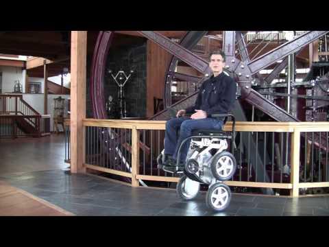 Stair Climbing iBOT Wheelchair v2 on the Horizon
