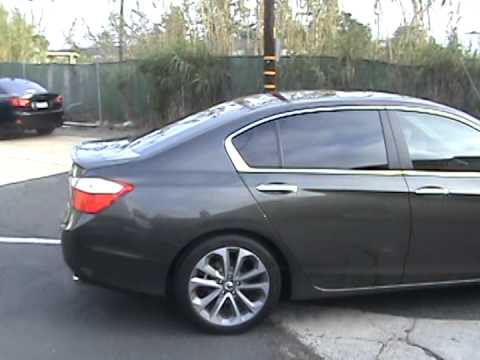 2014 Honda Accord Window Tinting Youtube