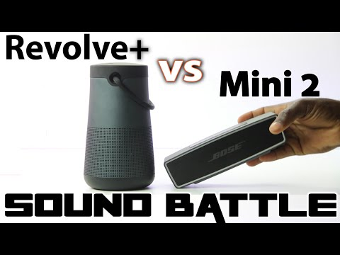 Sounds Battle: Revolve + vs SoundLink Mini 2 -The real sound