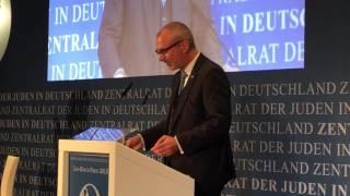 Rede zur Leo-Baeck-Preisverleihung 2015