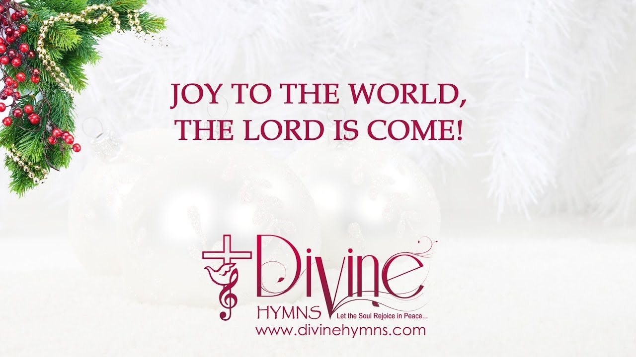 Joy to the World with Lyrics Christmas Carol Song - YouTube