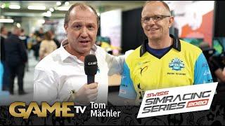 Game TV Schweiz - Tom Mächler | Geschäftsführung Züriring | SWISS SIMRACING SERIES