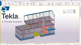 Astuce Tekla Structures : Modélisation, affichage