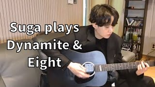 Download BTS SUGA 'Dynamite' & 'Eight' Guitar Cover!
