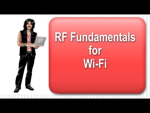 Radio Frequency For WiFi.  WiFi Antenna Theory.  For CWNA / CWNP Exam. Another GeekyVid