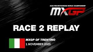 MXGP of Trentino 2020  Replay MXGP Race 2