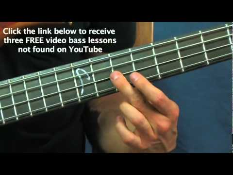 Bass Guitar Lesson Sweet Child Of Mine Guns And Roses Youtube
