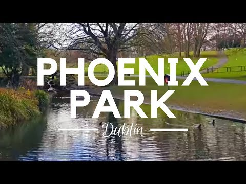 PHOENIX PARK DUBLIN IRELAND - Walk Through the Largest Enclosed Recreational Spaces in an EU Capital