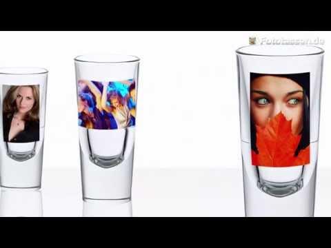 Likörglas zum selbst gestalten