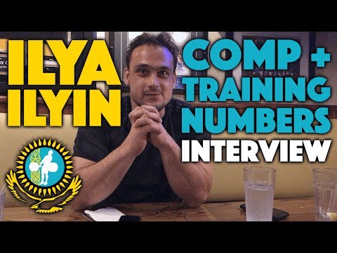 Ilya Ilyin - Video Interview / Training and Competition Numbers