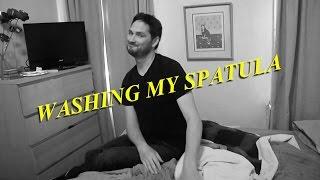 Washing My Spatula