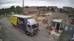 Time lapse of South Shields transport interchange construction 2
