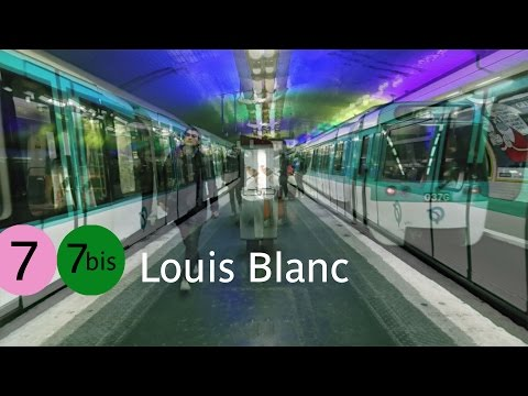 Paris by Métro - #150 Louis Blanc