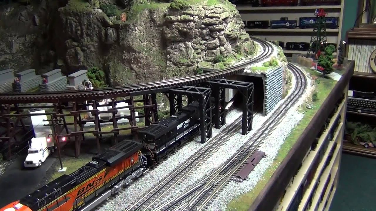 Mth O Gauge Train Layouts Free Download Dcs Wiring Diagram On Youtube Scale Layout Update Winter 2015