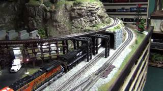 mth dcs o scale train layout update winter 2015
