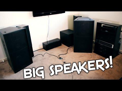 MINI EBAY AMP vs LARGE SPEAKERS