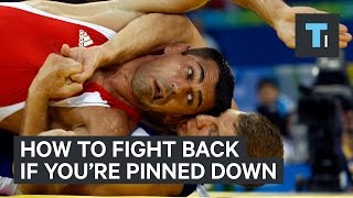 How to fight back if you're pinned to the ground