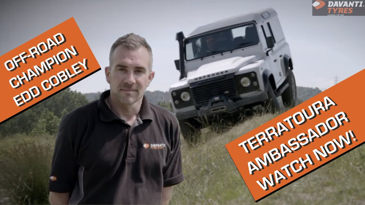 Off-Road Champion Edd Cobley - Davanti Terratoura Ambassador