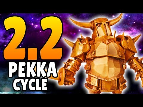 [PEKKA IS BROKEN] FASTEST PEKKA DECK EVER! ONLY 2.2 ELIXIR! | Clash Royale