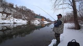 Случай на рыбалке Рыбалка НЕ удалась DAIWA CrossWake