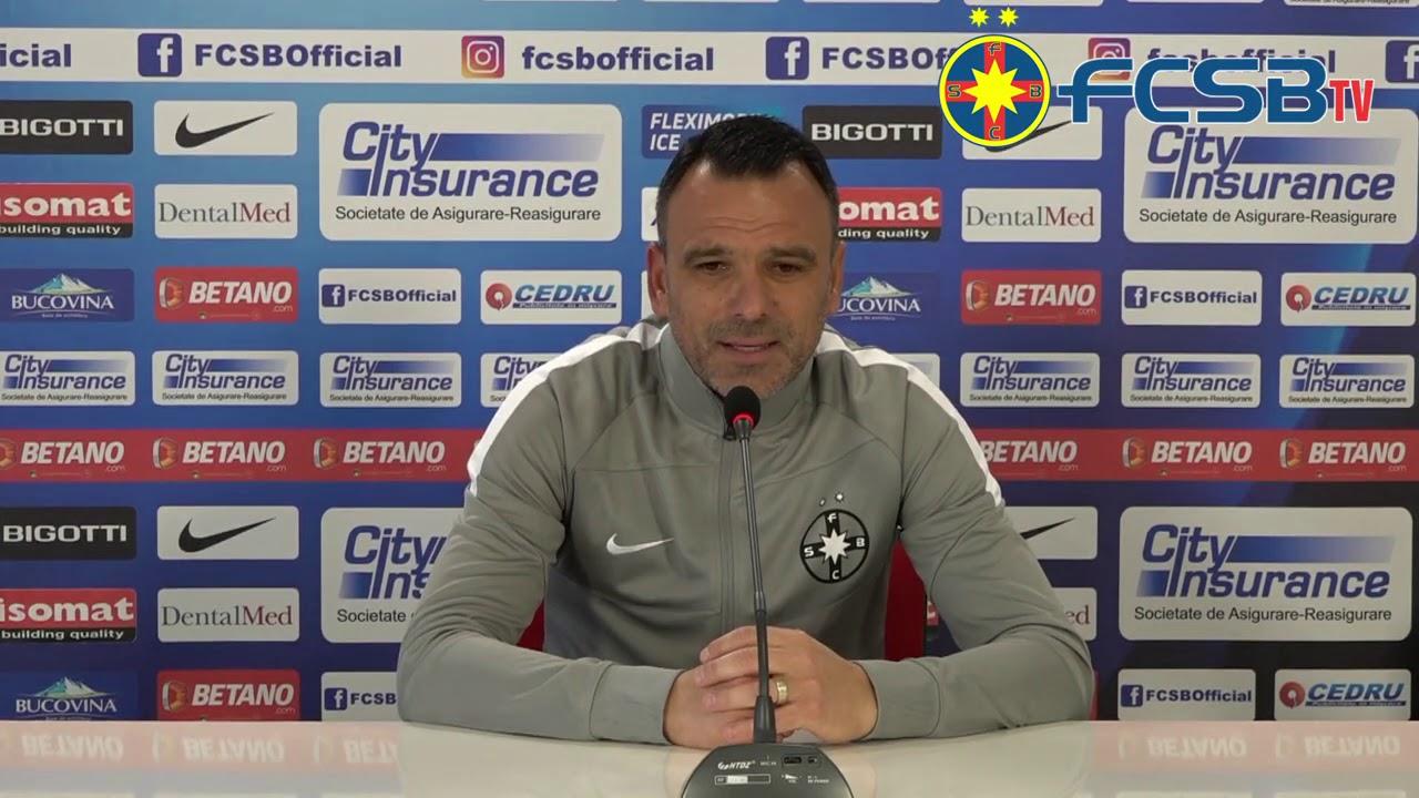 Declarații Anton Petrea înainte de Mediaș-FCSB!