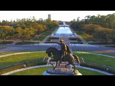 Hermann Park - Houston - DJI Inspire - 4K HD
