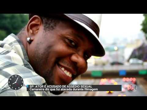 Camareira denuncia o ator e rapper Togún Teixeira por estupro | Primeiro Impacto (01/12/17)